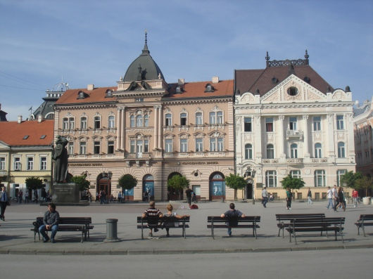 Novi Sad trg